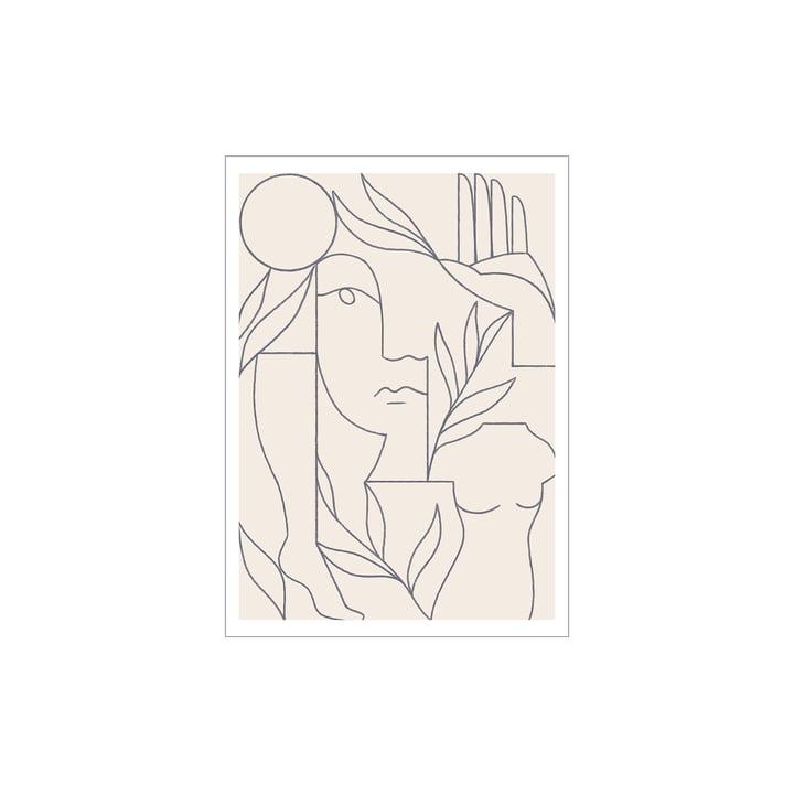 Eden Poster von Paper Collective, 30 x 40 cm