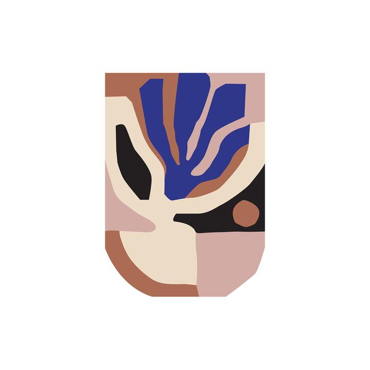 Monstera Poster von Paper Collective, 30 x 40 cm