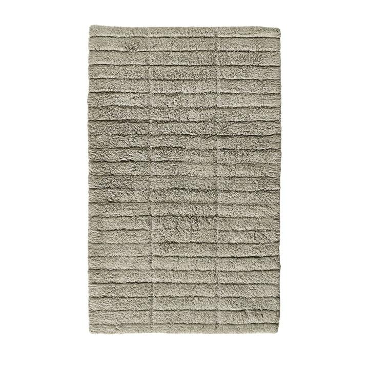 Die Soft Tiles Badezimmermatte von Zone Denmark, 50 x 80 cm, eucalyptus green