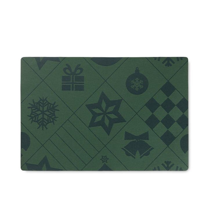 Natale Tischset von Rosendahl in der Farbe grün