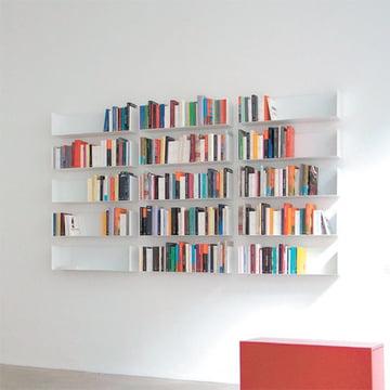 linea1 a Bücher- und DVD-Regale als Bücherwand