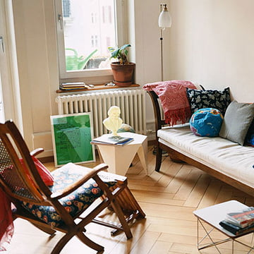Prismatic Table von Vitra für das Wohnzimmer