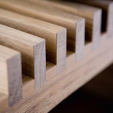Cutter Holzbank