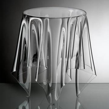 Illusion Beistelltisch - transparent