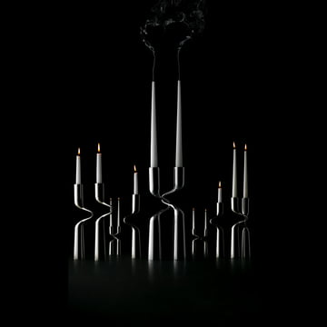 Eleganter Kerzenständer: Menu Double
