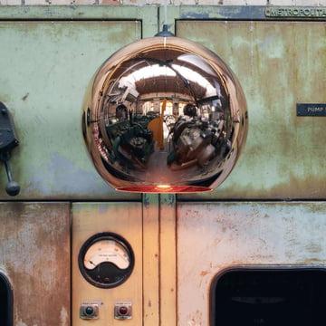 Zeitloser Copper Lamenschirm