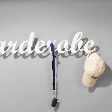 "Klein & More - ""Garderobe"" Wandgarderobe in cremeweiss"