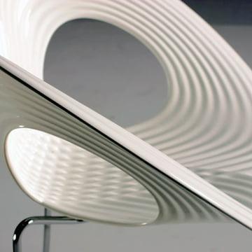 Ripple Chair von Moroso in Weiss