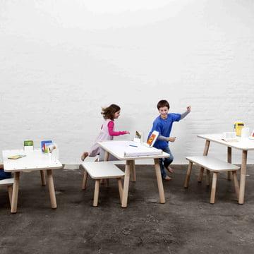 Der Growing Table Tisch in allen drei Grössen