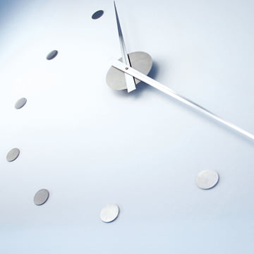 Flexibel in ihrer Grösse - die flexible Wanduhr von Radius Design