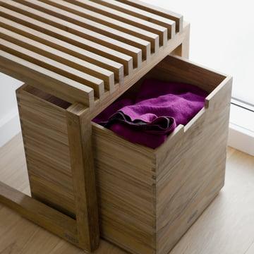 Skagerak - Cutter Box, Teakholz