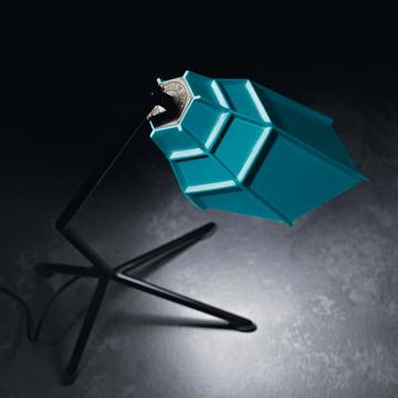 Diesel Pett Tischleuchte, blau