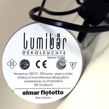Leuchtelement für Lumibär