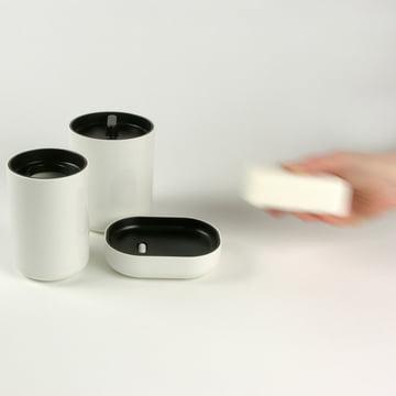 Lunar Badezimmer-Serie aus Kunststoff