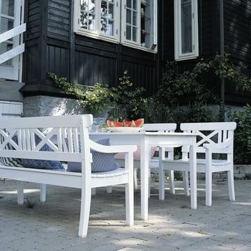 Skandinavisches Design für die Terrasse