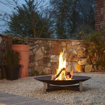 Design-Feuerstelle sunset von Artepuro