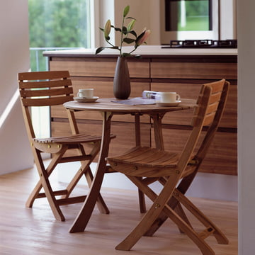 Robust und stilvoll: Skagerak Vendia Tisch und Stühle