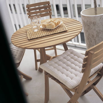 Platzsparende Eleganz mit Skagerak Vendia Tisch und Stühlen