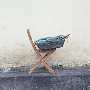 Schwungvoll und bequem: der Vendia Stuhl von Skagerak
