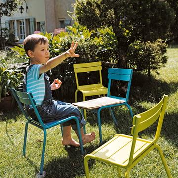 Luxembourg Kid Stuhl und Bank von Fermob
