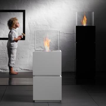 Safretti - Cube W1/B1 Feuerstelle mit Kind 2