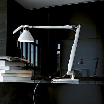 Fortebraccio-Schreibtischleuchte von Luceplan in Weiss