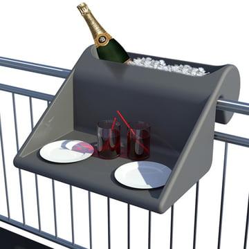 Balkonzept von rephorm in Graphit