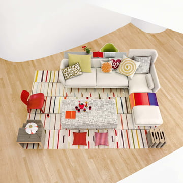 Vitra - Suita Sofa - verschiedene Elemente - Ambiente