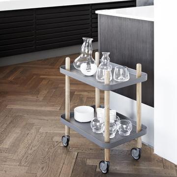 Der Block Beistellwagen als Ablage für die Küche