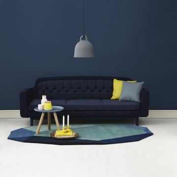Normann Copenhagen - Gem und Onkel -Ambiente, Wohnzimmer, blau