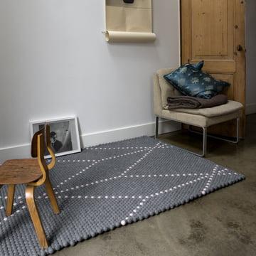Der Hay - S&B Dot Carpet in elephant breath