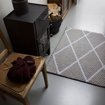 Der Hay - S&B Dot Carpet in glacier silt