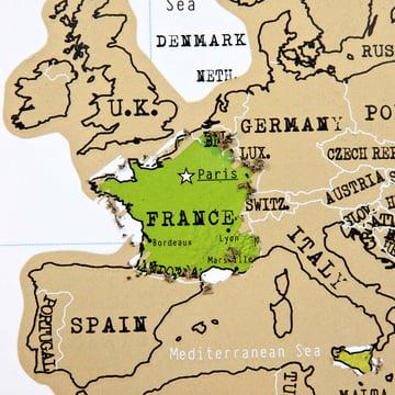 Ein beliebtes Reiseziel in Europa: Frankreich