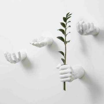 Weisse Hand Hooks von Areaware
