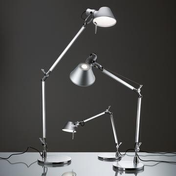 Artemide - Tolomeo Mini LED TischleuchteAlumi