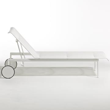 Knoll - 1966 Verstellbare Liege, weiss