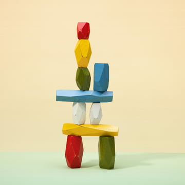 Areaware - Balancing Blocks Holzspielzeug, multicoloured
