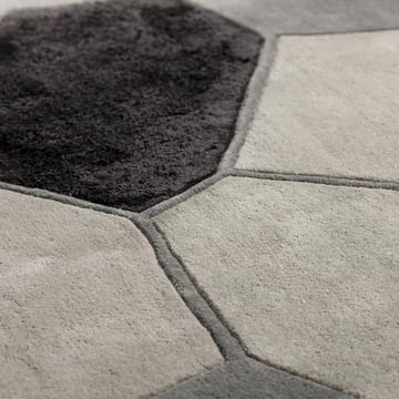 Ruckstuhl - Landscape Teppich, silber