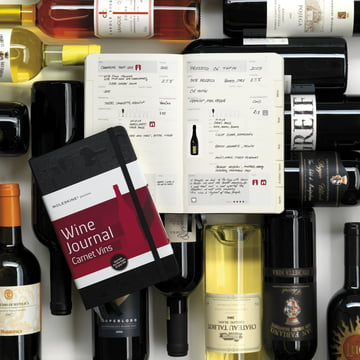 Moleskine - Passion Journal, Wein