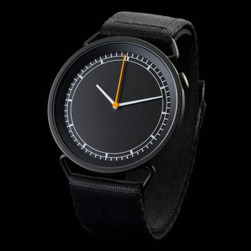 Rosendahl - MUW Armbanduhr, schwarz / schwarz