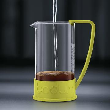 Bodum - Brazil Kaffeebereiter, 1,0 L, Limette - Zubereitung 2
