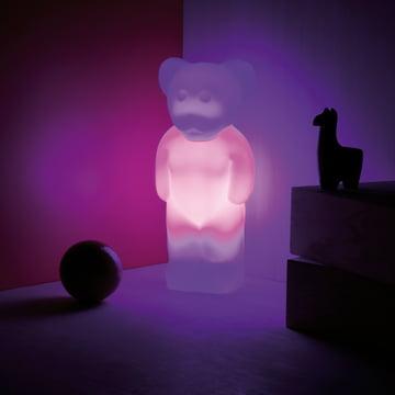 Authentics - Lumibär, Situation blau