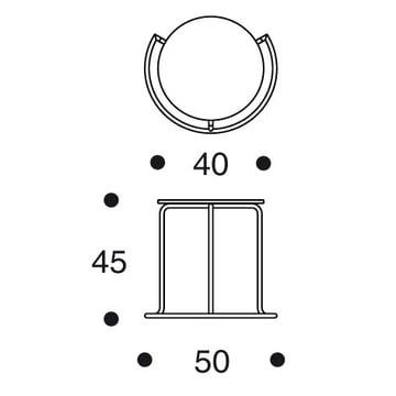 Artek - Side Table 606 - Masse