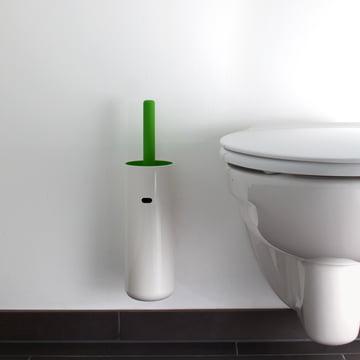 Authentics - Lunar WC-Bürste wandhängend, grün