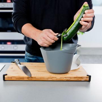 Royal VKB - Chop Organizer, weiss - Schälen von Gemüse