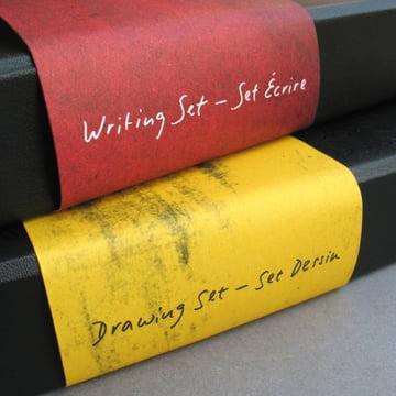 Moleskine - Zeichen-Set und Schreib-Set - Detail, Umschlag