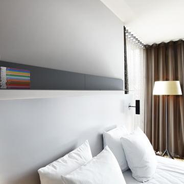 Frost - Unu Regalsystem, Ambientebild Schlafzimmer