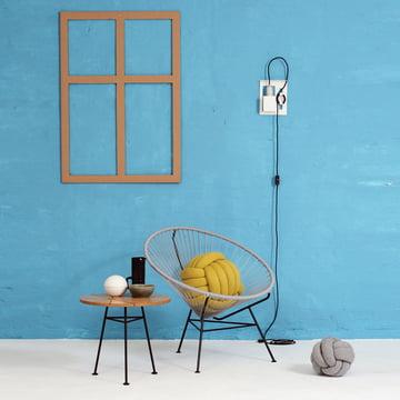 OK Design - The Condesa Chair, hellgrau