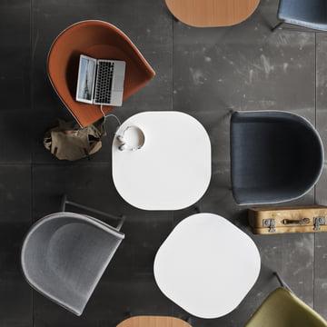 Fritz Hansen - Minuscule Tisch und Stuhl - Aufsicht