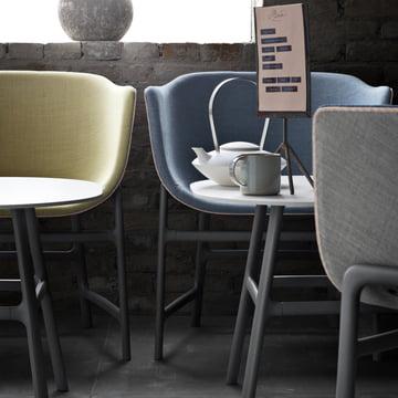 Fritz Hansen - Minuscule Tisch und Stuhl - nah